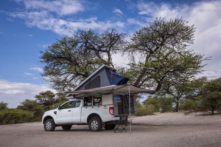 4x4 équipé camping façon Avis Safari Rental